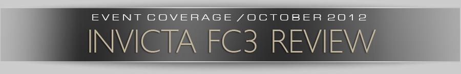 Invicta FC 3 Review