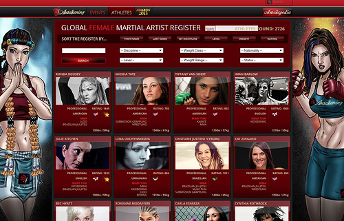 Global Female Martial Artist Register