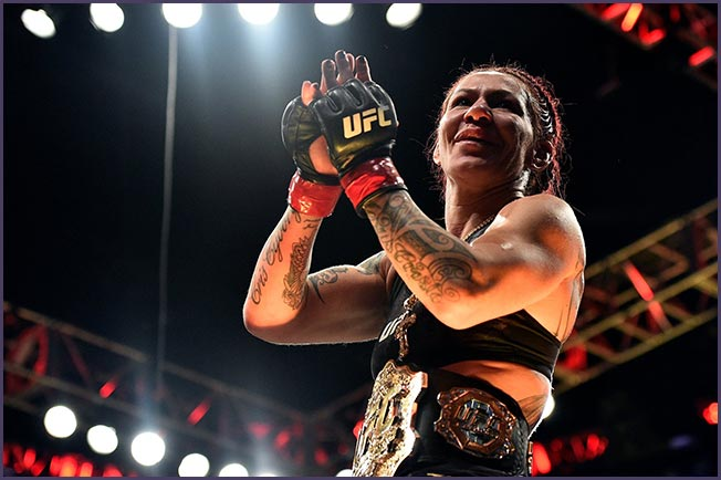 Cristiane Justino. Photo Credit: UFC Facebook