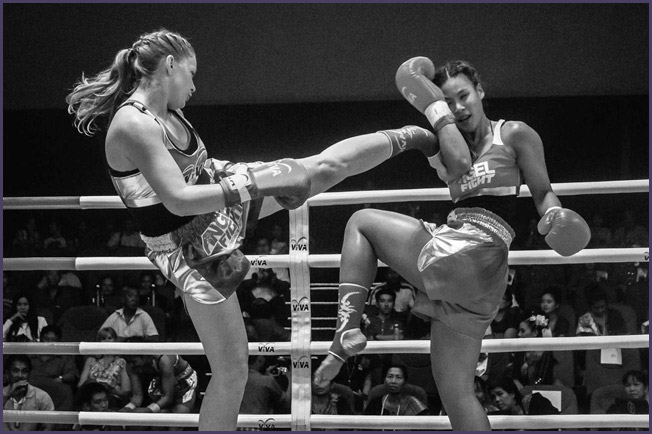 Kelly Creegan Muay Thai