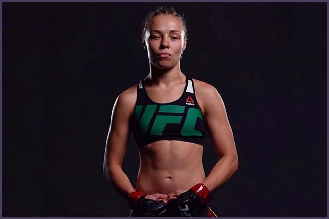 Rose Namajunas. Photo Credit: Unknown