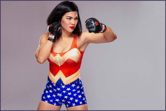 Rachael Ostovich Berdon.  Photo Credit: Esther Lin for Invicta FC
