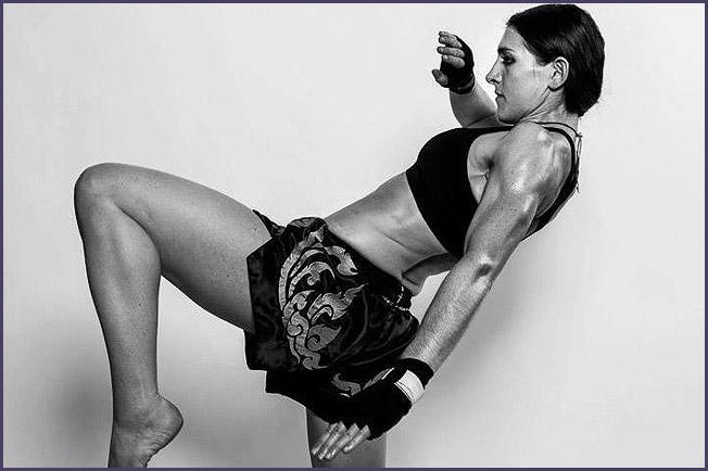 Whitney Tobin Muay Thai