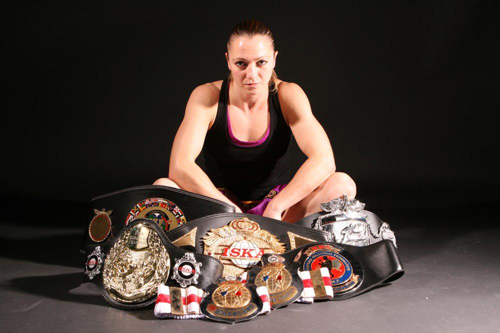 Alexis Rufus Muay Thai World Champion