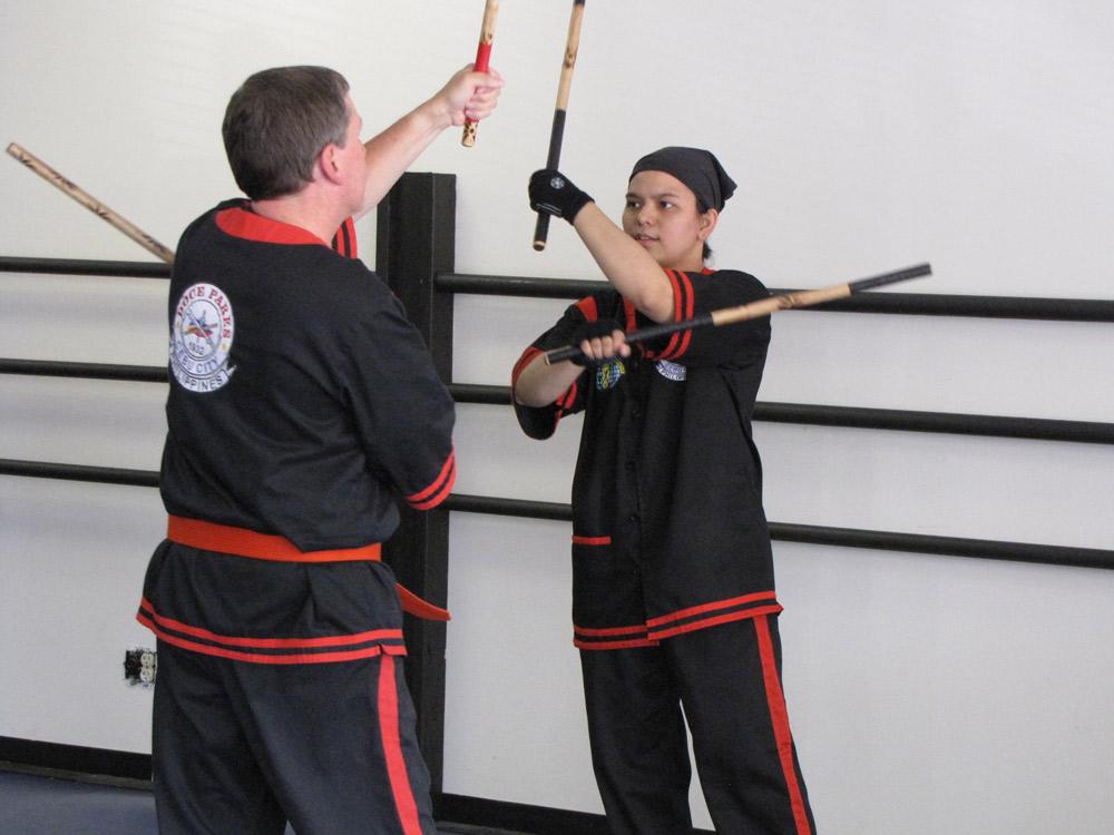 Eskrima drills practice