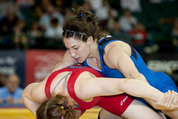 Sara Mcmann Wrestling