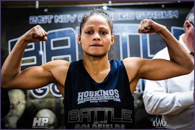 Dayana Cordero. Photo Credit: Hoskings Promotions