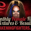 March Female Fight Fixtures and Results