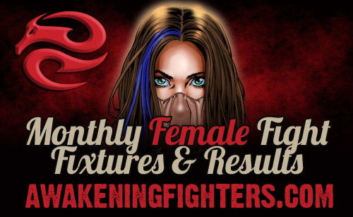 Monthly Female Fight Fixtures and Results