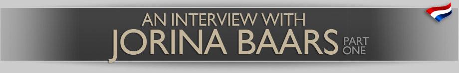 An Interview with Jorina Baars – part 1