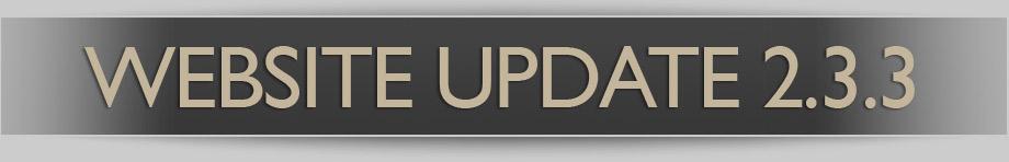 Website Update 2.3.3