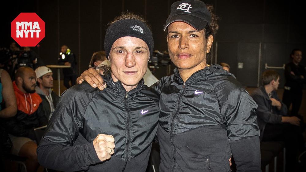 Diana Prazak and Lucia Rijker