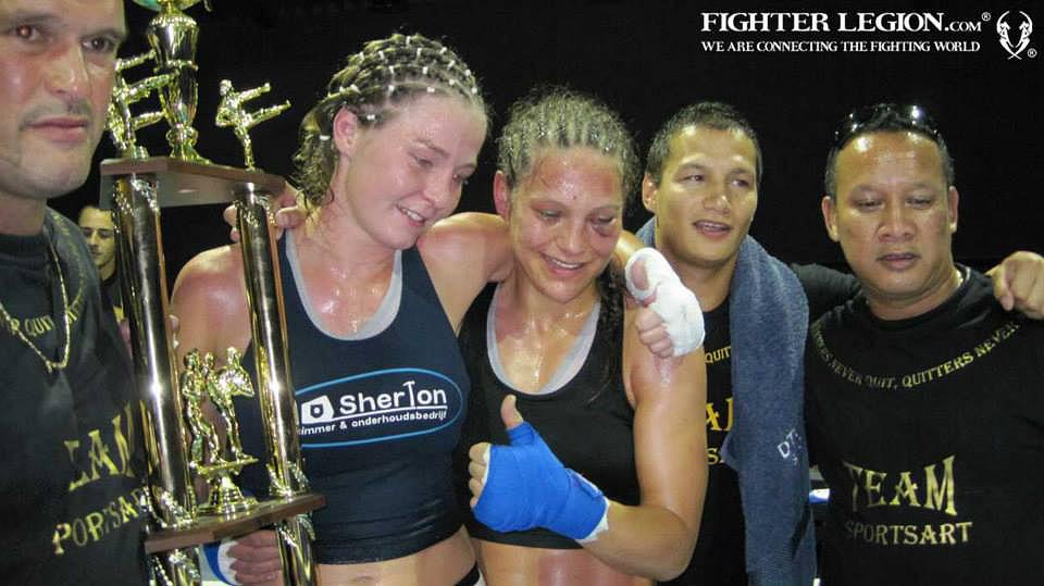 Jorina Baars vs Katrin Dirheimer 2012 by Fighter Legion