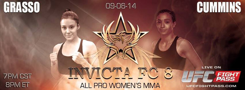 Alexa Grasso vs Ashley Cummins - Invicta FC8