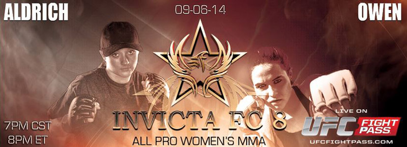 JJ Aldrich vs Delaney Owen - Invicta FC8