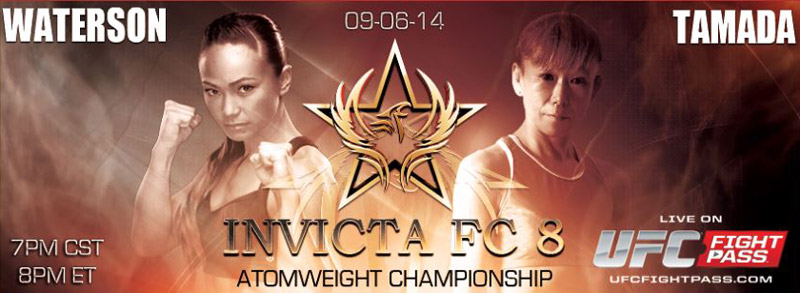 Michelle Waterson vs Yasuko-tamada - Invicta FC8