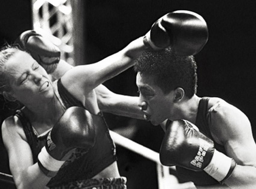 Michele Aboro vs Daisy Lang in Germany 1996