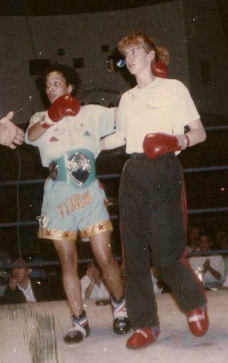 Michele Aboro in 1990