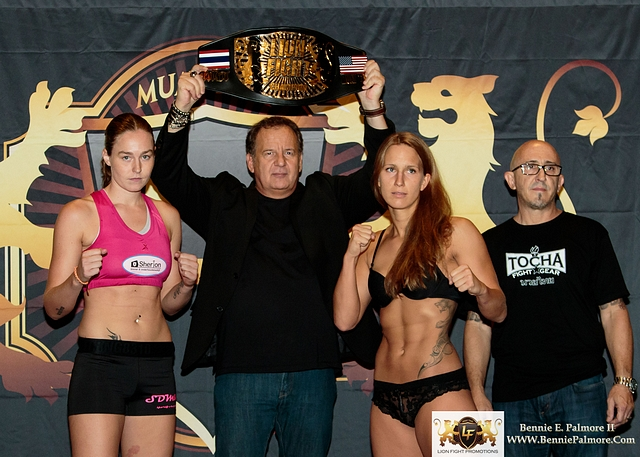 Jorina Baars vs Martina Jindrova / Photo Credit: Bennie E Palmore II