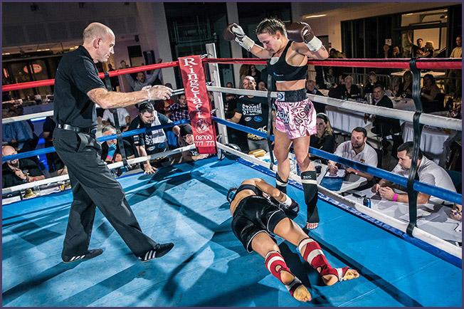 Sarah Worsfold Kickboxing