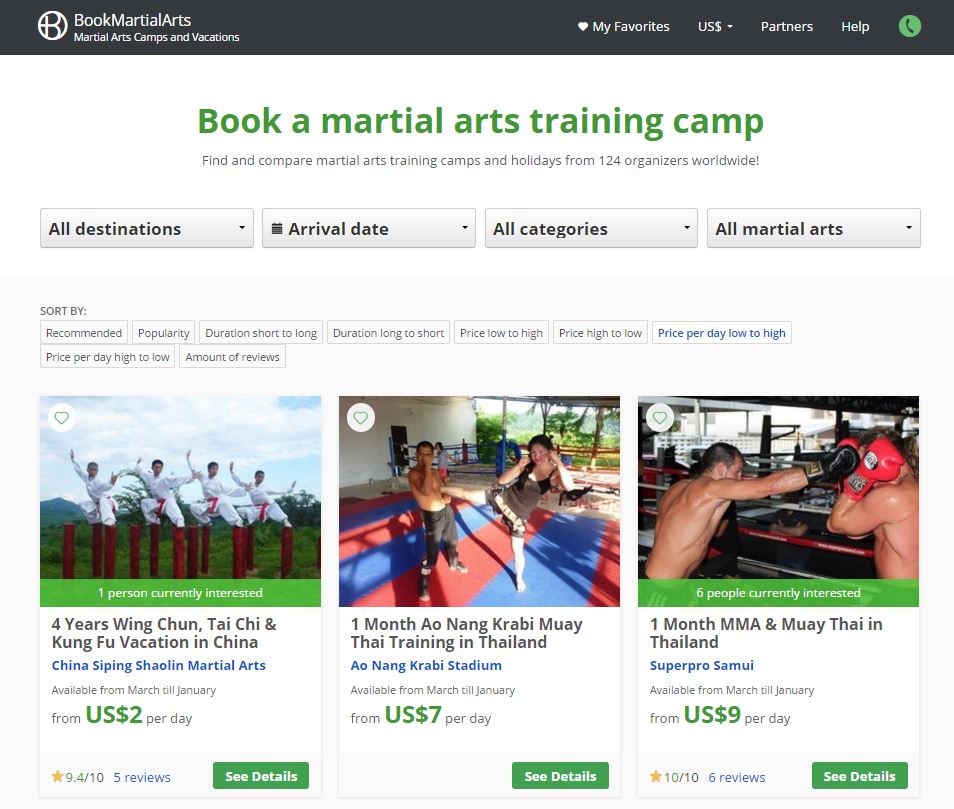 Bookmartialarts.com