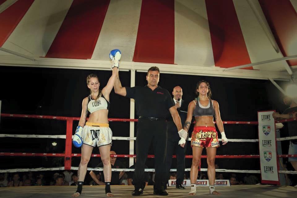 Alice D Agostino K1 187 Muay Thai Awakening Fighters