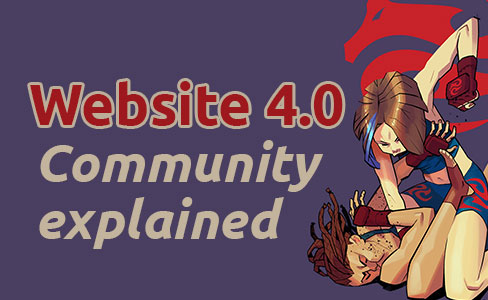Website 4.0, Community explained