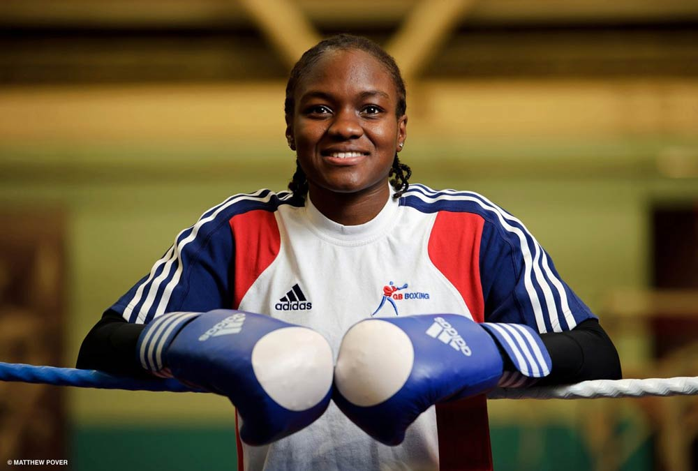 Nicola Adams. Photo Credit: Matthew Pover