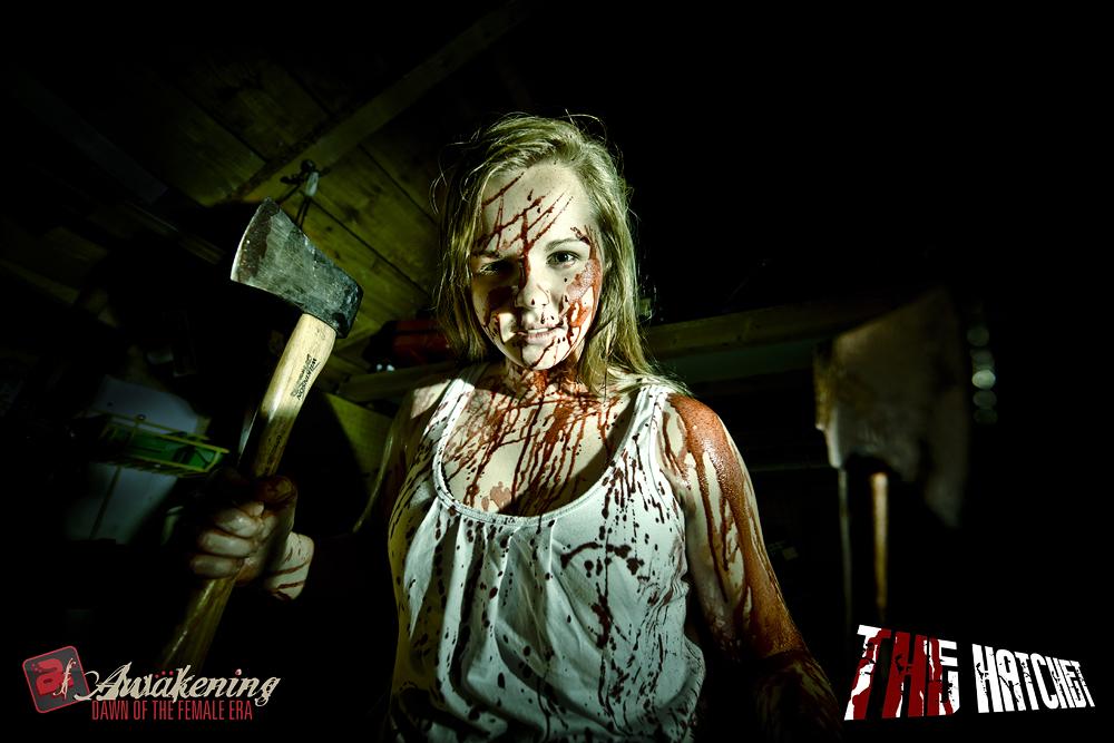 Lauren 'The Hatchet' Huxley