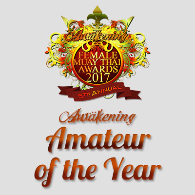 Muay Thai Amateur of the Year 2017