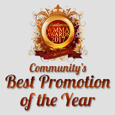 Community's Best Promotion of the Year 2017