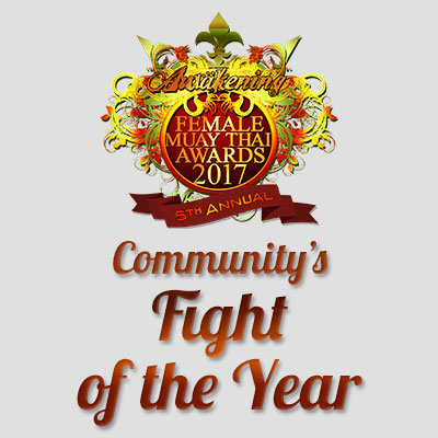 Community's Muay Thai Fight of the Year 2017