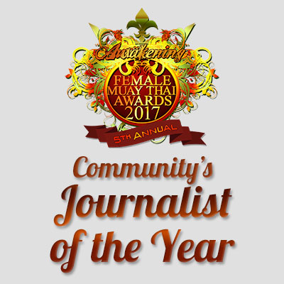 Community's Journalist of the Year 2017