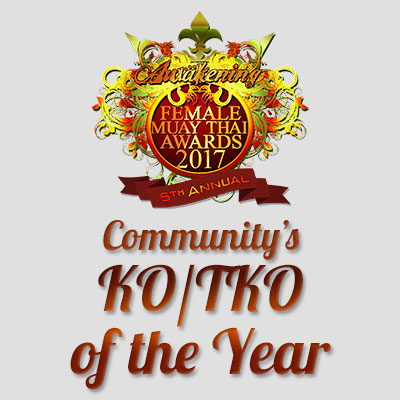 Community's KO/TKO of the Year 2017