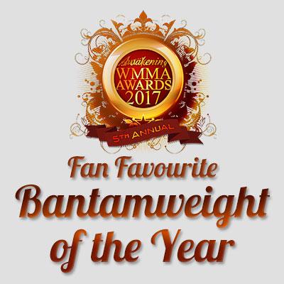 Fan Favourite Bantamweight of the Year 2017