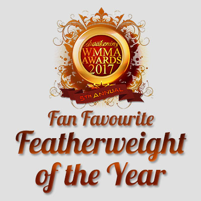 Fan Favourite Featherweight of the Year 2017