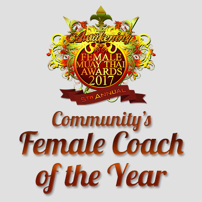 Community's Female Coach of the Year 2017