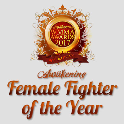 Female Fighter of the Year 2017