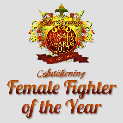 Muay Thai Female Fighter of the Year 2017