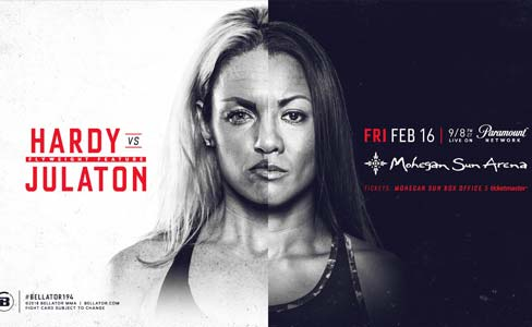 Heather Hardy vs Ana Julaton at Bellator 194