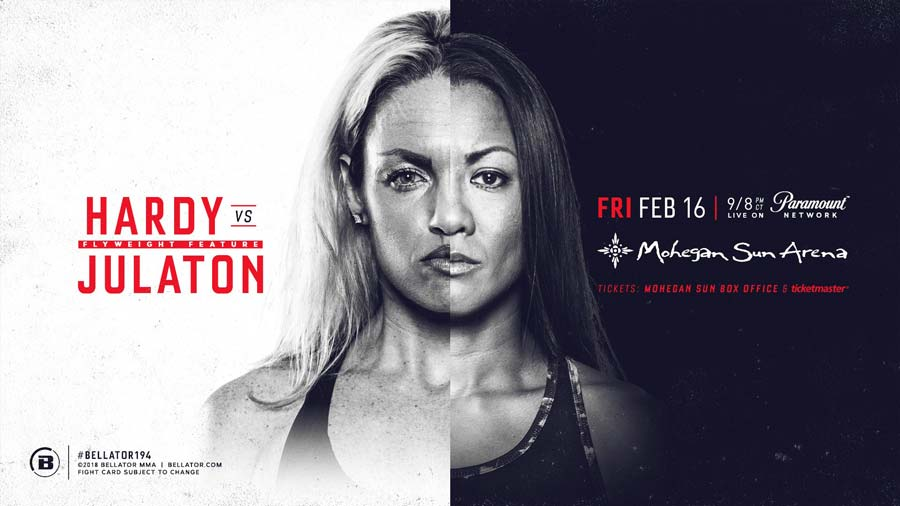 Heather Hardy vs Ana Julaton at Bellator 194