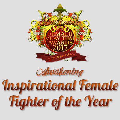 Inspirational Female Fighter of the Year 2017