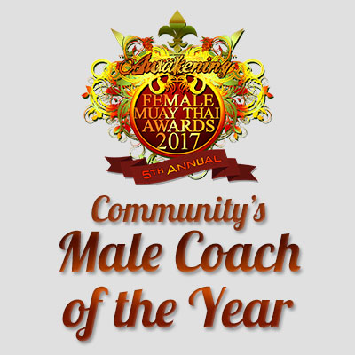 Community's Male Coach of the Year 2017