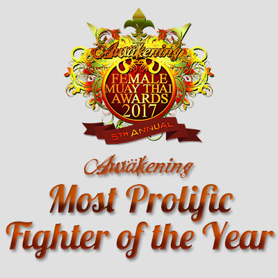Most Prolific Muay Thai Fighter 2017