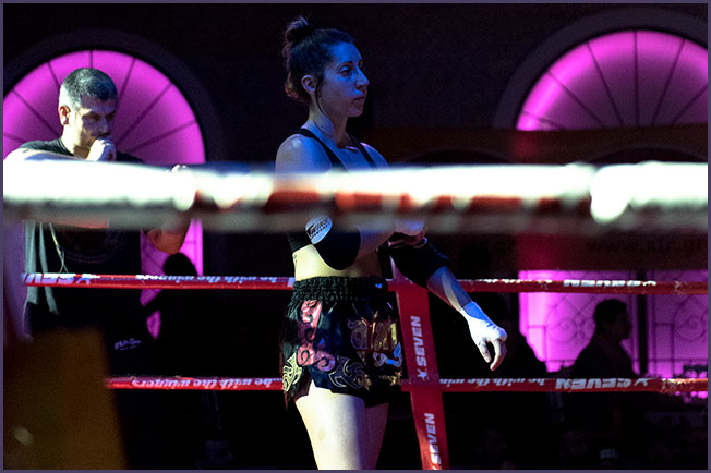 Vassia Fragkostefanaki Muay Thai