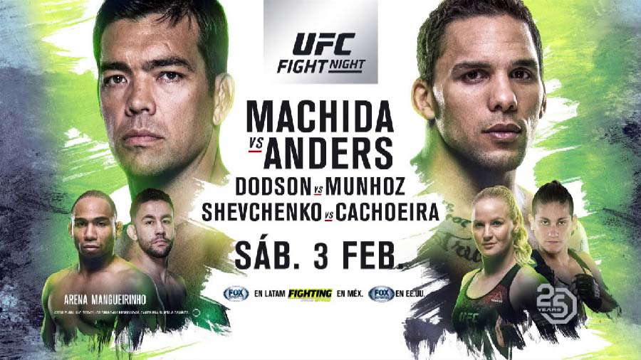 UFC Fight Night | Machida vs Anders