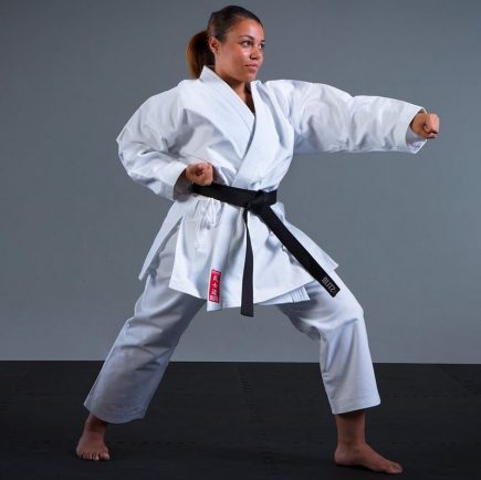 Blitz Adult Silver Tournament Karate Suit