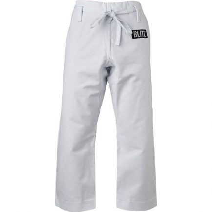 Blitz Adult Middleweight Martial Arts Trousers - 12oz