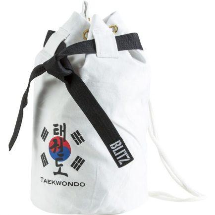 Blitz Taekwondo Discipline Duffle Bag - White